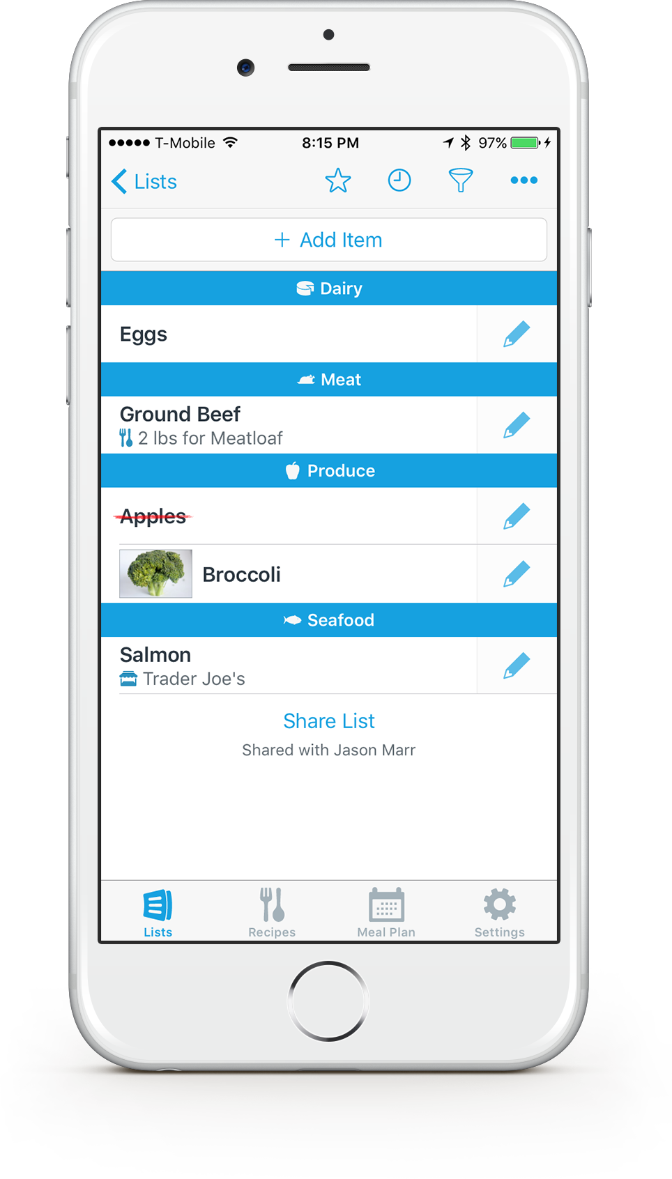 AnyList - The best way to create and share a grocery